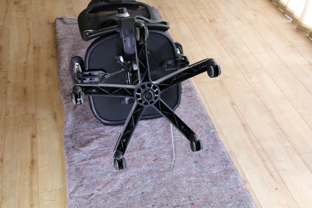 bureaustoel wielen vervangen
