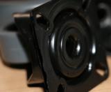 meubelwiel zwart 75mm