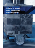 informatie test zwenkwiel met boutgat 100 mm