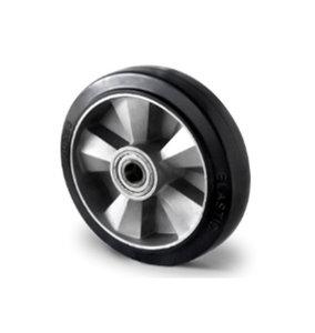 wiel zwaar rubber