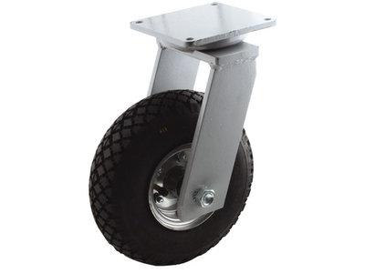 Zwaar zwenkwiel met luchtband 300 mm