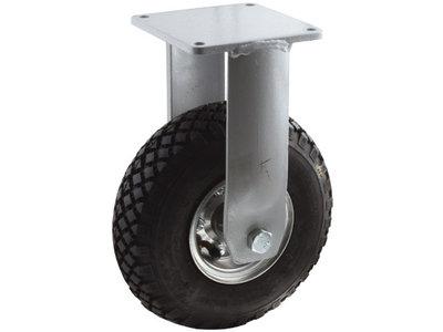 Zwaar bokwiel met luchtband 300 mm