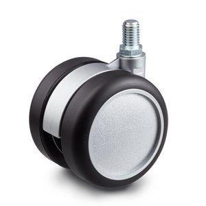zwart zilver wiel m8