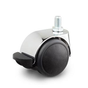 m8 wiel met rem chroom