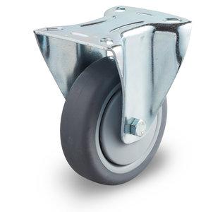 Bokwiel pvc band 125 mm plaat
