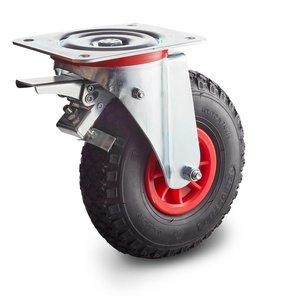 luchtband wiel met rem