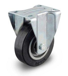 Bokwiel zwaar gietijzer wiel 125 mm