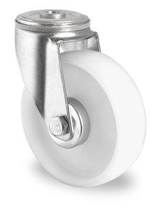 Nylon zwenkwiel boutgat 160 mm