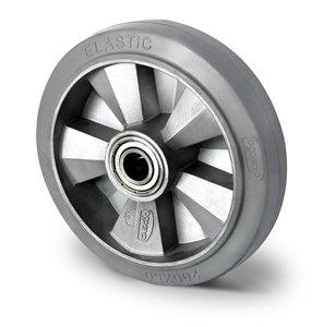 zwaar rubber wiel